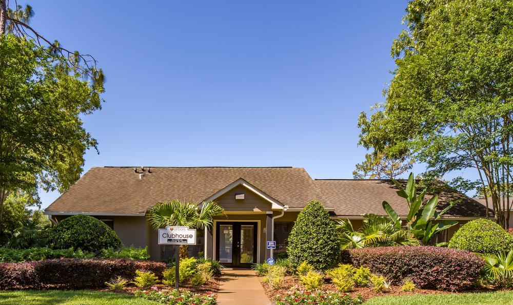 Clubhouse Entrance at Arbors at Orange Park in Orange Park, FL