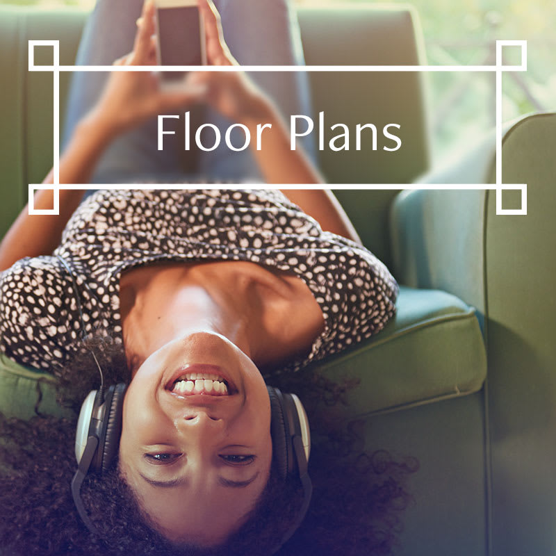 Floor plans at Arbors at Orange Park