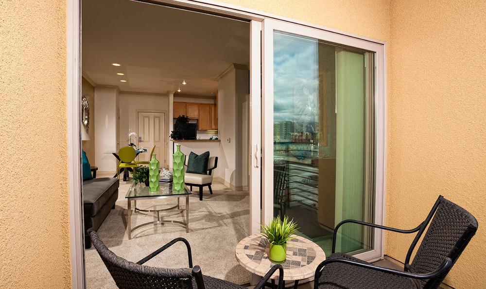 Apartments Balcony at Avana North Hollywood Apartments in North Hollywood, CA