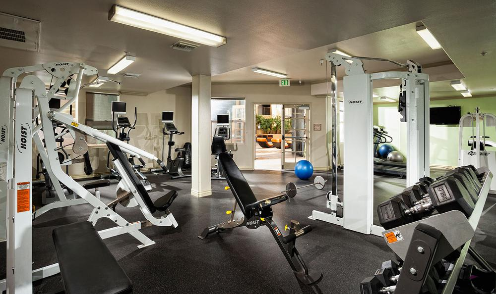 Fitness Center at Avana North Hollywood Apartments in North Hollywood, CA
