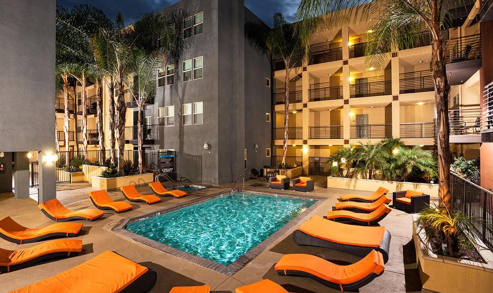 Swimming Pool at Avana North Hollywood Apartments in North Hollywood, CA