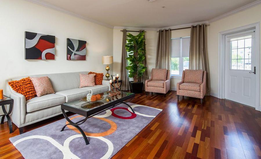 Living room at Avana Abington Apartments