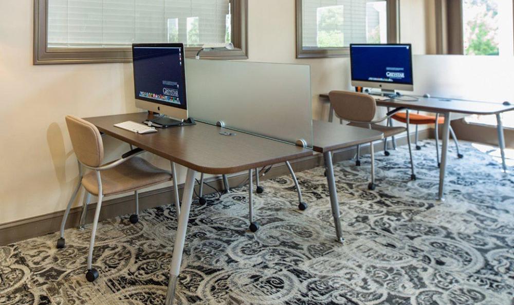 Business Center at Avana Abington Apartments in Abington, MA