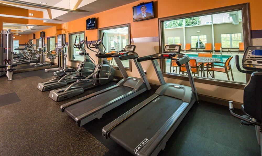Fitness Center at Avana Abington Apartments in Abington, MA