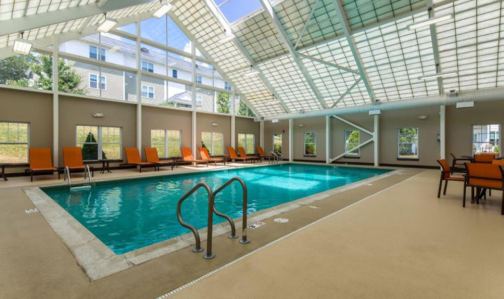 Indoors Swimming Pool at Avana Abington Apartments in Abington, MA