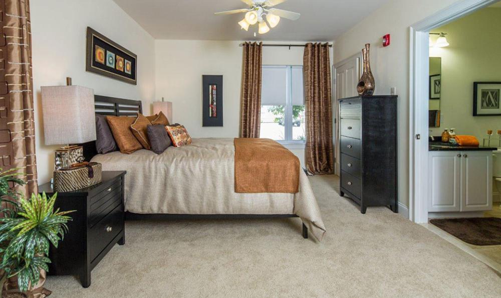 Spacious Bedroom at Avana Abington Apartments in Abington, MA