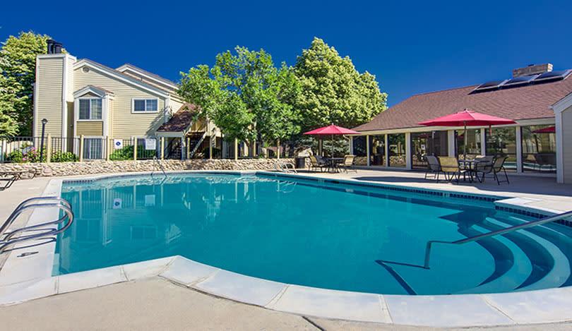 Pool at Deerfield Apartments