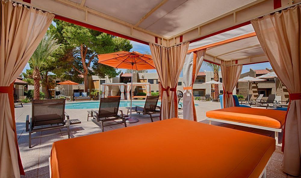 Comfy Tend Near Pool at Avana McCormick Ranch Apartments in Scottsdale, AZ