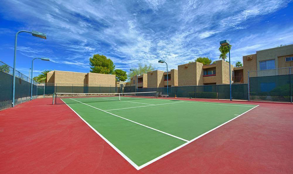 Tennis Court at Avana McCormick Ranch Apartments in Scottsdale, AZ
