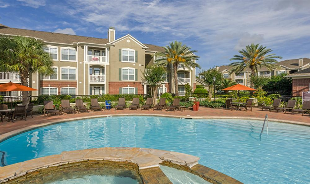 Big Swimming Pool at Avana Cypress Estates Apartments in Houston, TX