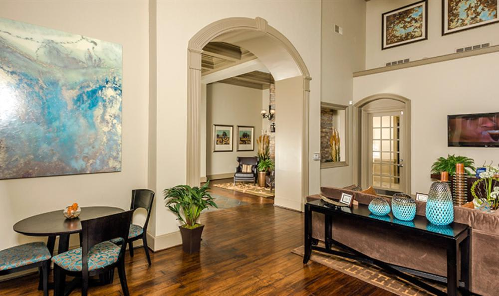 Clubhouse Hall at Avana Cypress Estates Apartments in Houston, TX
