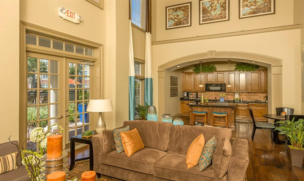 Clubhouse Living at Avana Cypress Estates Apartments in Houston, TX