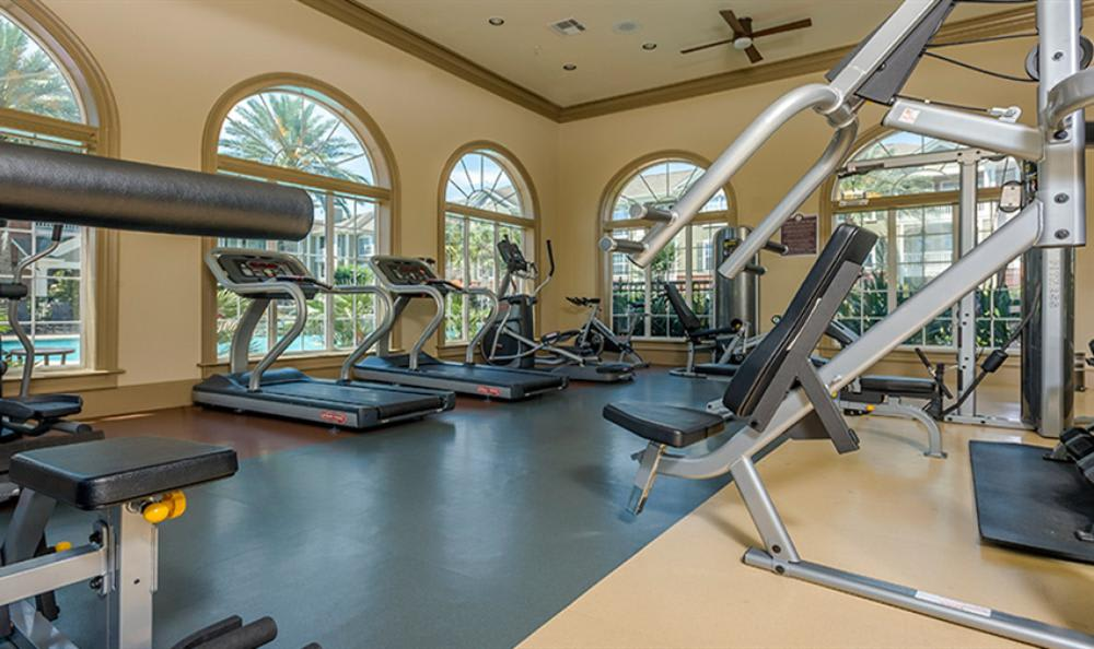Exercise Facility at Avana Cypress Estates Apartments in Houston, TX