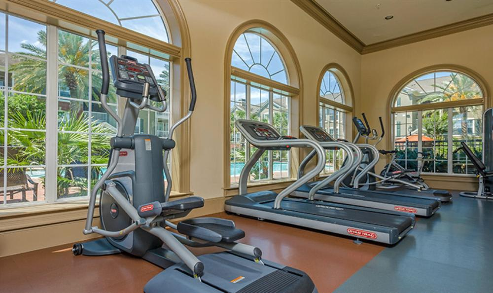Fitness Center at Avana Cypress Estates Apartments in Houston, TX