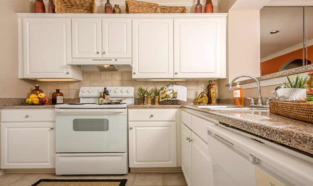 Fully Equipped Kitchen at Avana Cypress Estates Apartments in Houston, TX