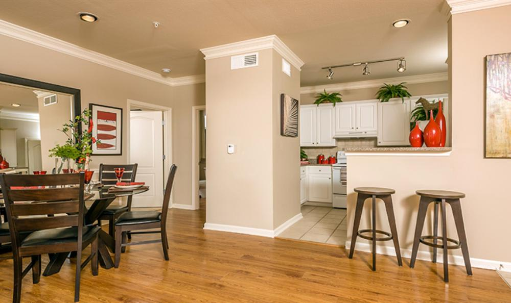 Kitchen Dining Room Combo at Avana Cypress Estates Apartments in Houston, TX