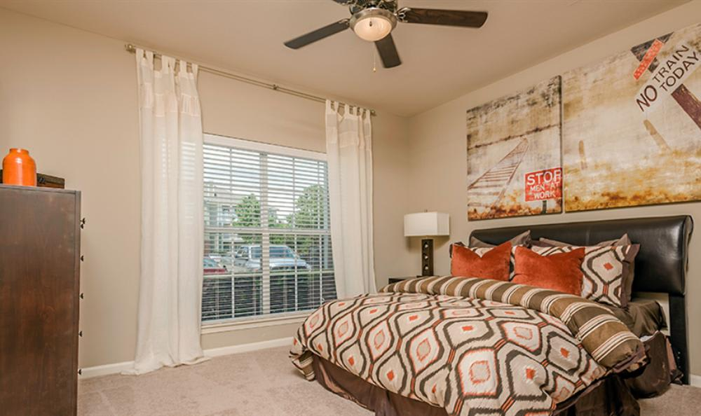 Spacious Bedroom at Avana Cypress Estates Apartments in Houston, TX