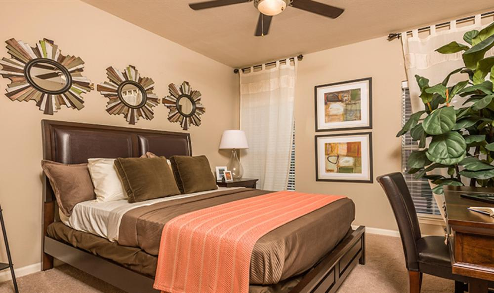 Well Design Bedroom at Avana Cypress Estates Apartments in Houston, TX
