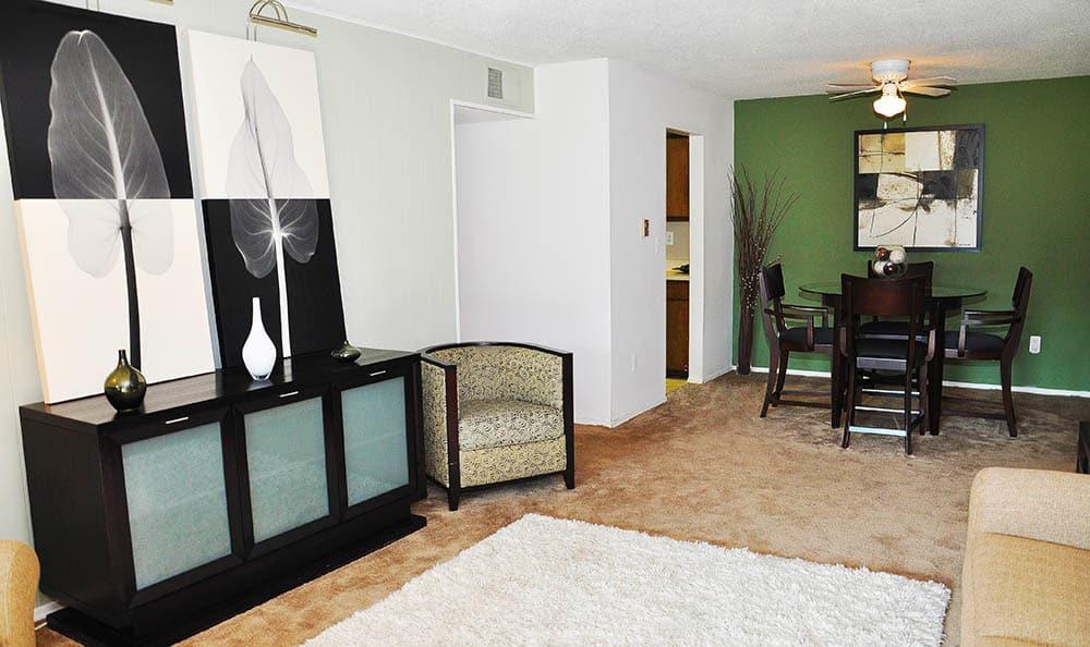 Apartment Interior At Harbour Club