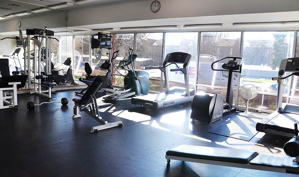 Fitness Center At Harbour Club