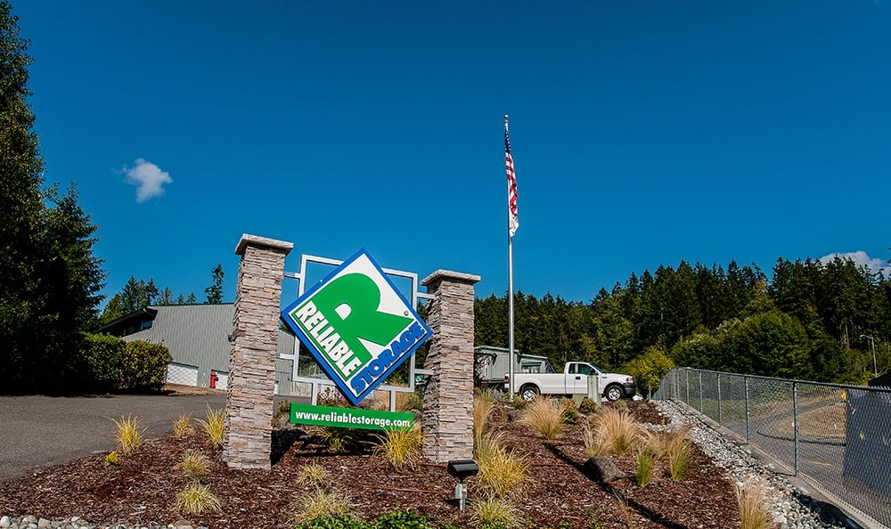 Entrance To Our Poulsbo Storage Facility