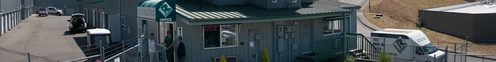 Self Storage facility in Poulsbo offering boat storage
