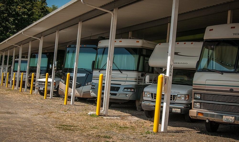 Covered Rv Storage In Kingston Washington