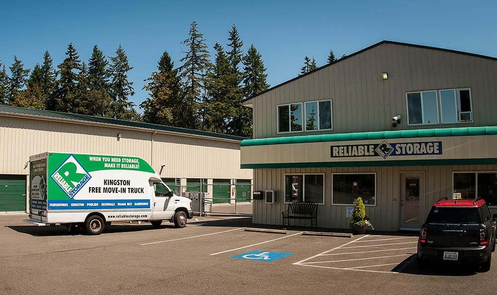Office At Storage In Kingston Washington