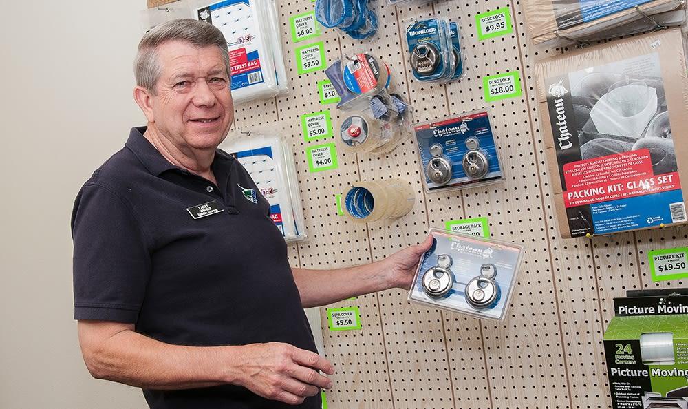 Larry At Storage In Kingston Washington