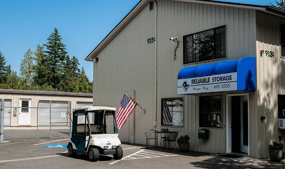 Office At Self Storage In Bremerton