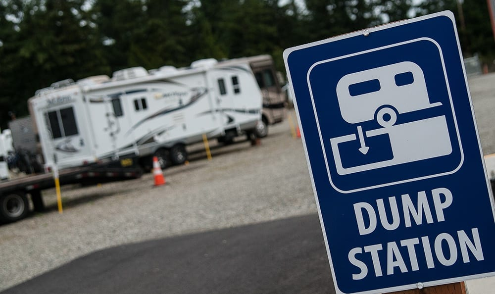 Dump Station At Storage In Port Orchard
