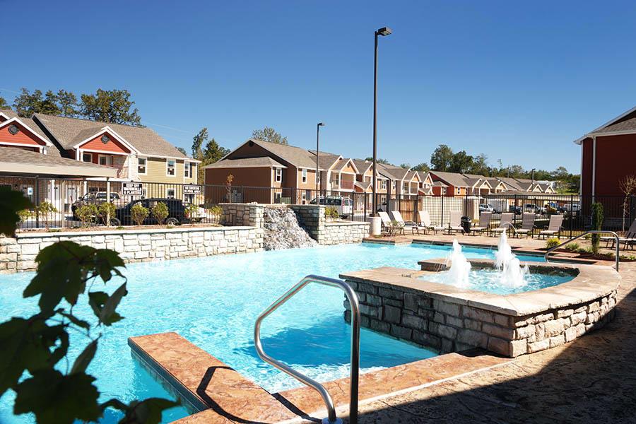 Community amenities at Bee Creek Apartments