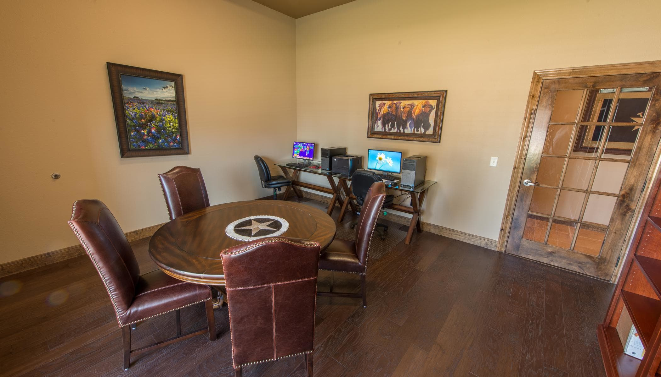 Computers for residents at The Reserves at South Plains in Lubbock, Texas