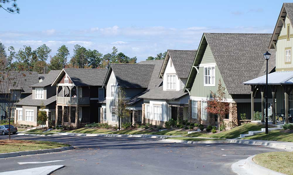 The Cottages of Hattiesburg student apartments