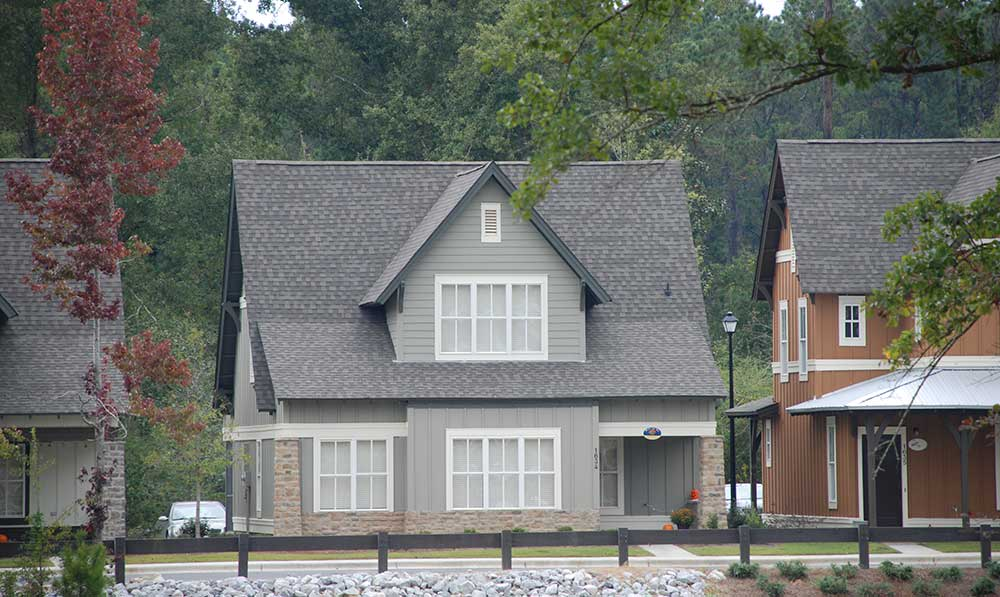 Student living neighborhood in Hattiesburg