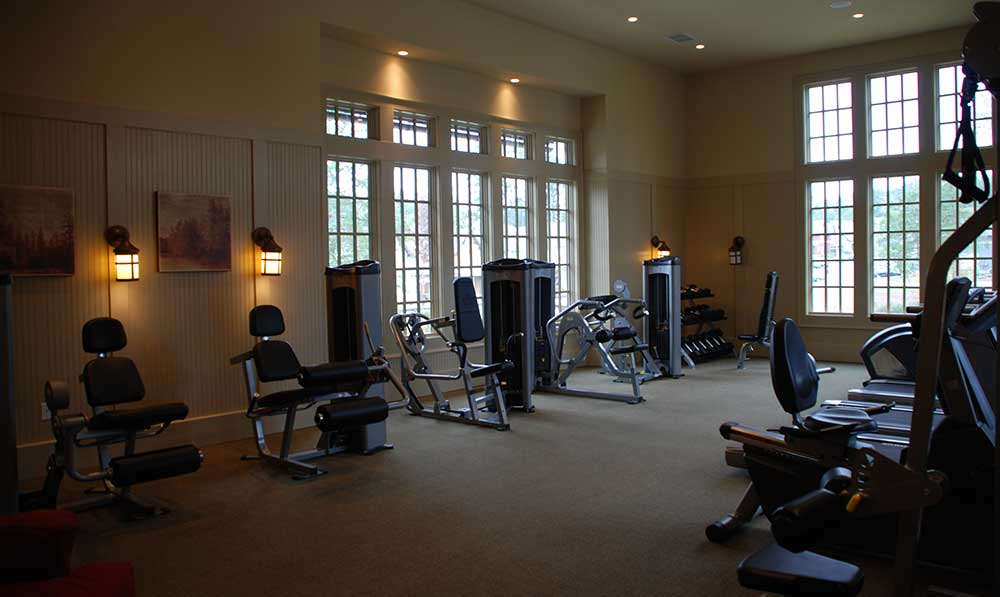 The Cottages of Hattiesburg fitness center