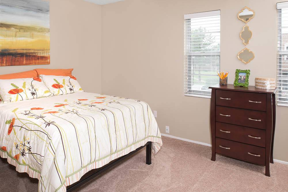 Large bedroom at University Village
