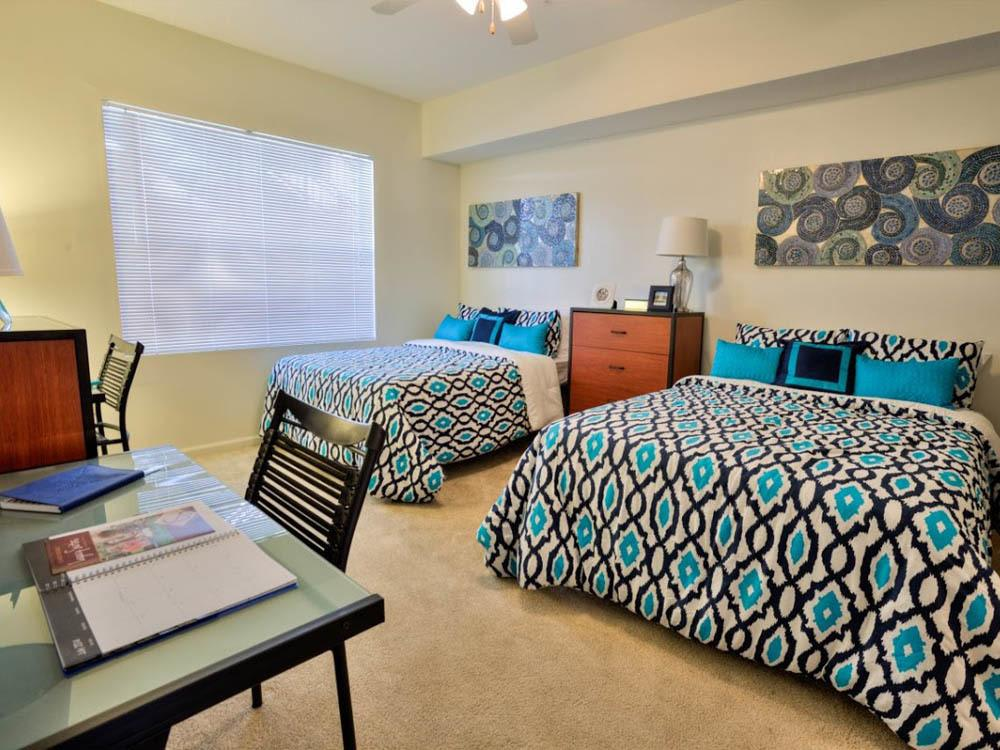 Large bedroom at Legacy Student Living in Tallahassee