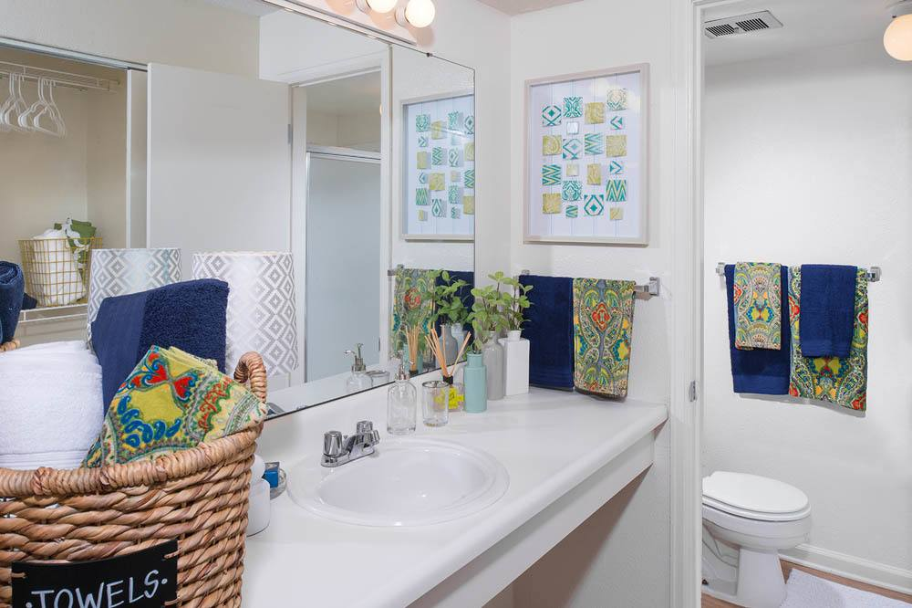 Beautiful bright bathroom at  in Toledo