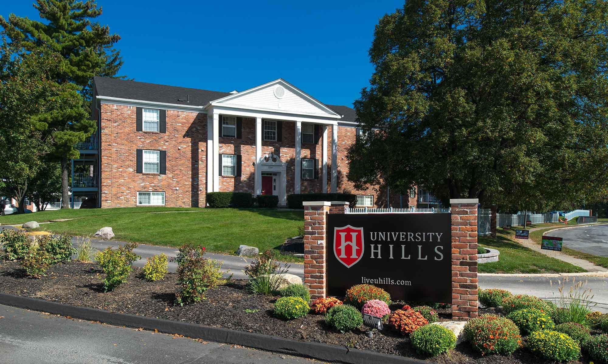 University Hills Off Campus Student Housing In Toledo Oh