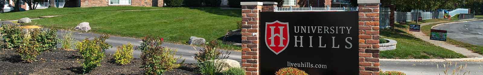 Schedule a tour at University Hills