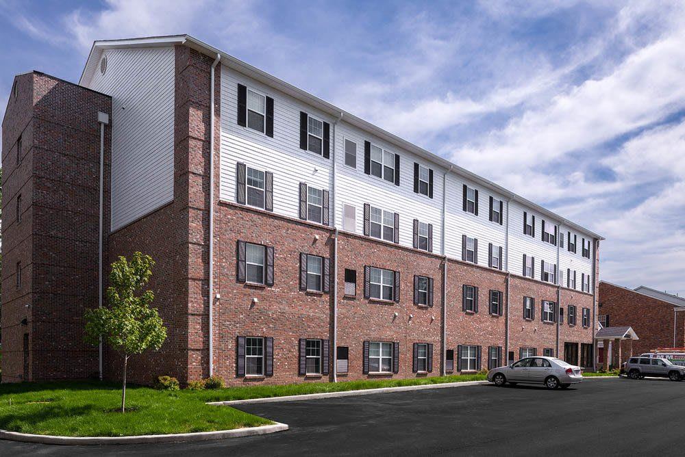 Exterior view of University Hills Apartments