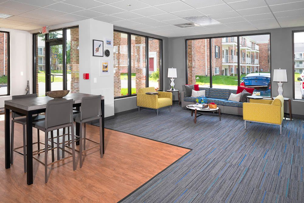 Student lounge at Apartments in Toledo