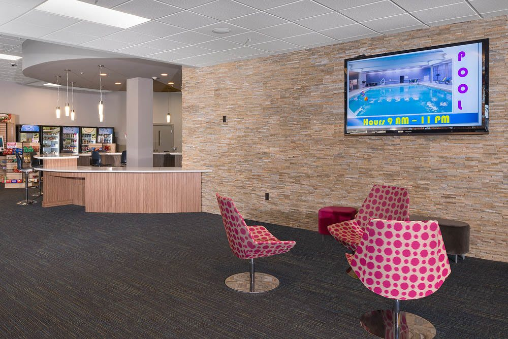University Plaza Lounge Area  in Dekalb