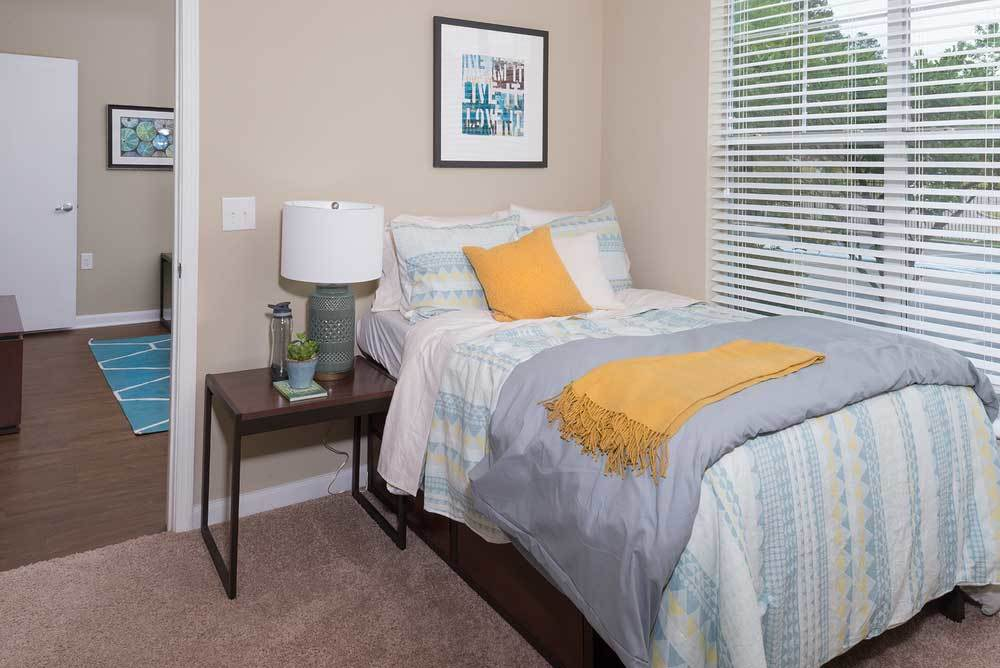 Nightstand In Furnished Apartment For Rent In Hattiesburg Ms