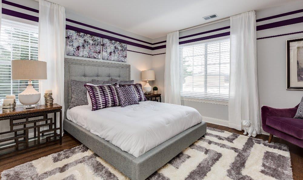 Master bedroom at Auburn Gate in Auburn Hills