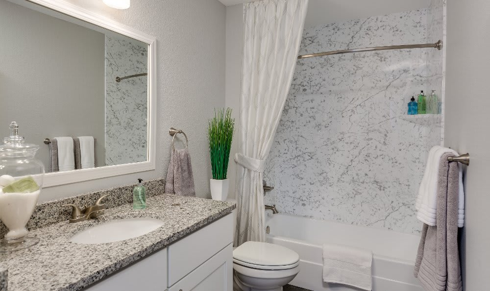 Bathroom at Auburn Gate in Auburn Hills
