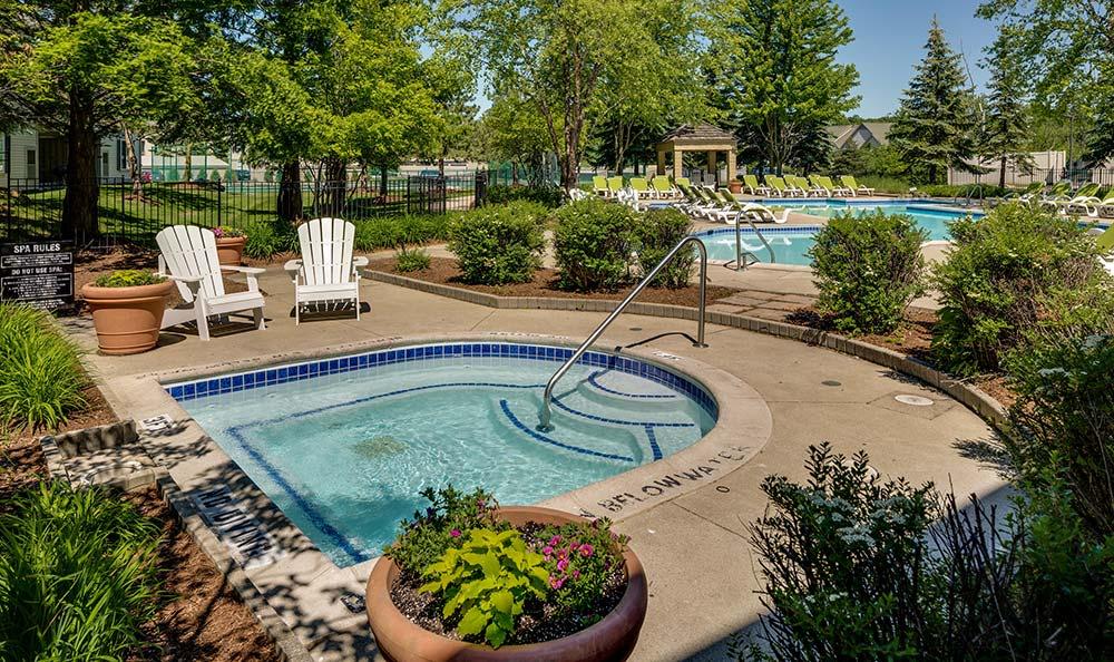 Spa/hot tub at Auburn Gate in Auburn Hills