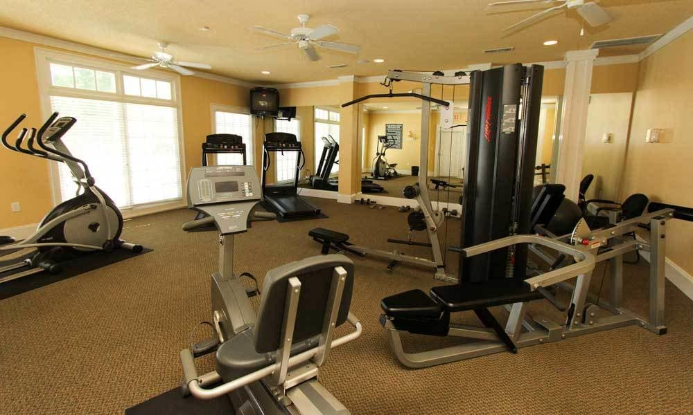 Beechwood Pines fitness center
