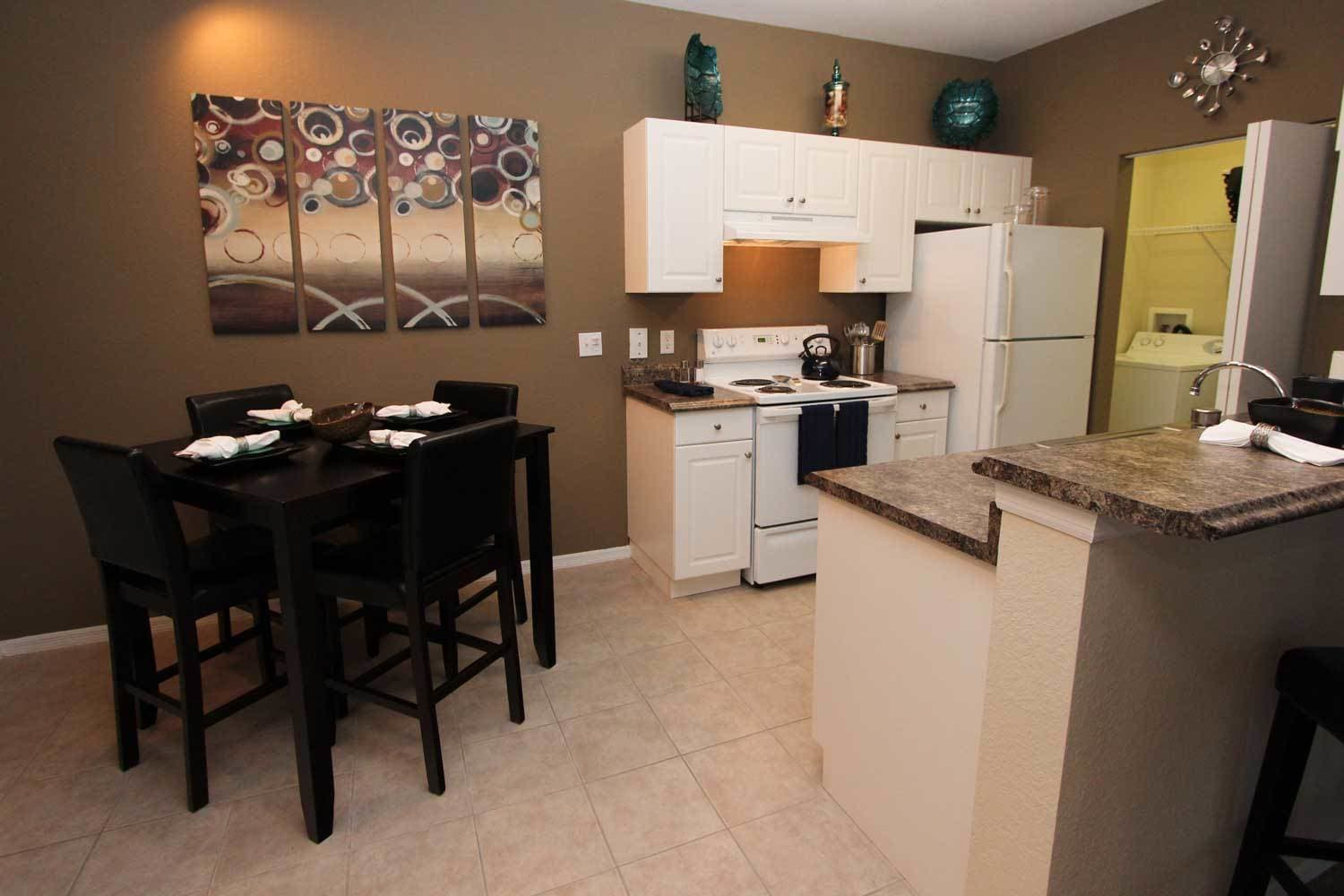 The Benchmark Group apartment kitchen
